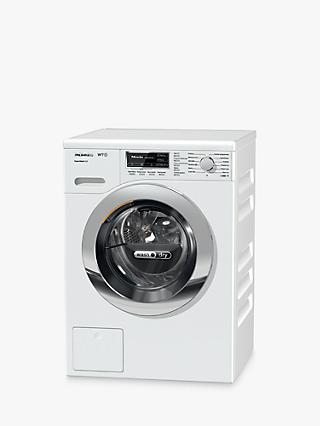 Miele WTF121WPM Washer Dryer, 7kg Wash/5kg Dry Load, A Energy Rating, 1600rpm Spin, Lotus White