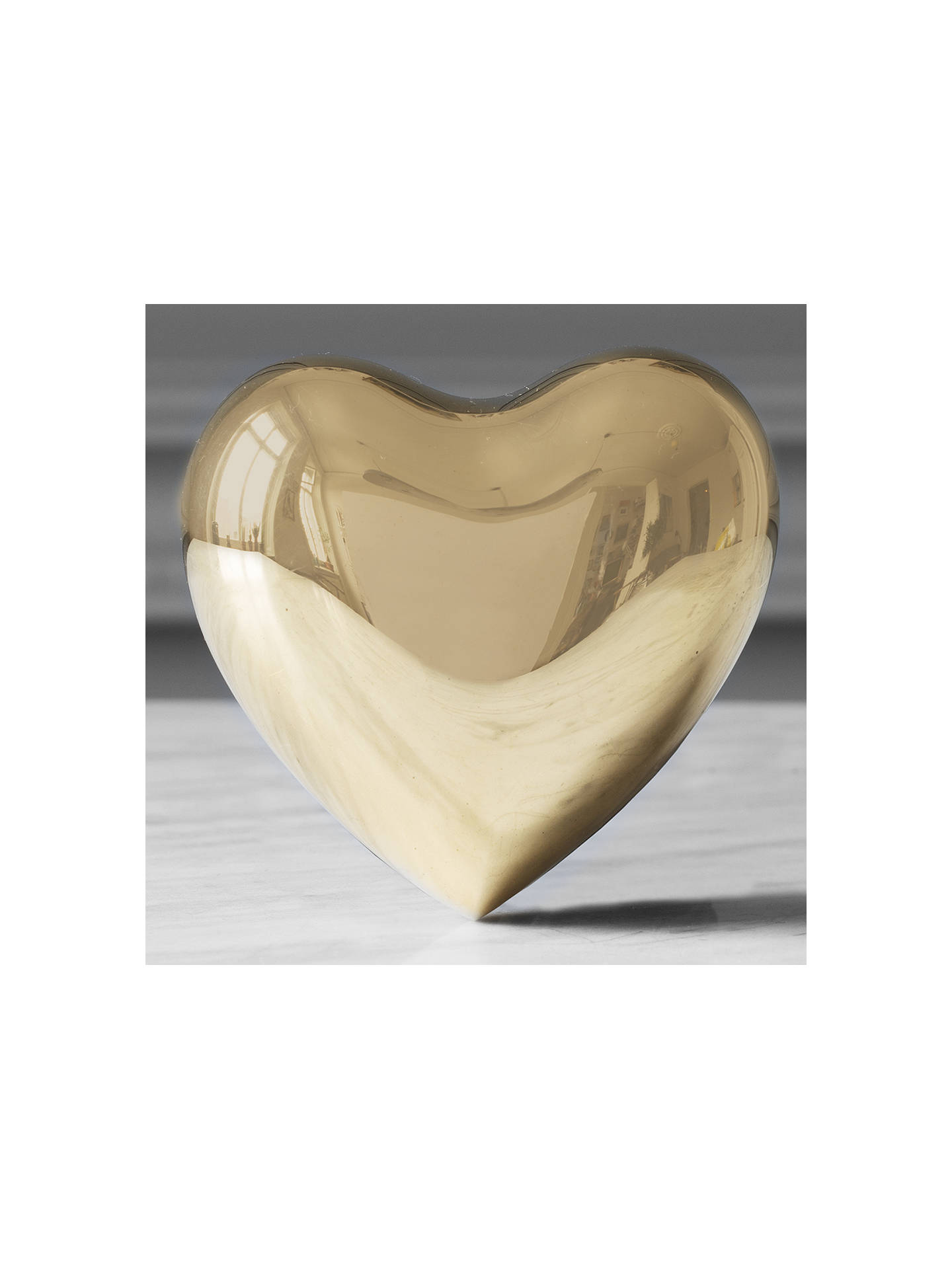 Buy Skultuna Heart Ornament, Large Online at johnlewis.com