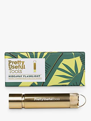 Pretty Useful Tool Hideaway Torch, Gold