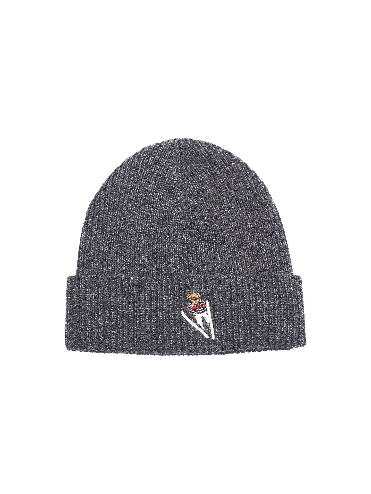 e147cc077ed Buy Polo Ralph Lauren Merino Wool Skiing Bear Hat