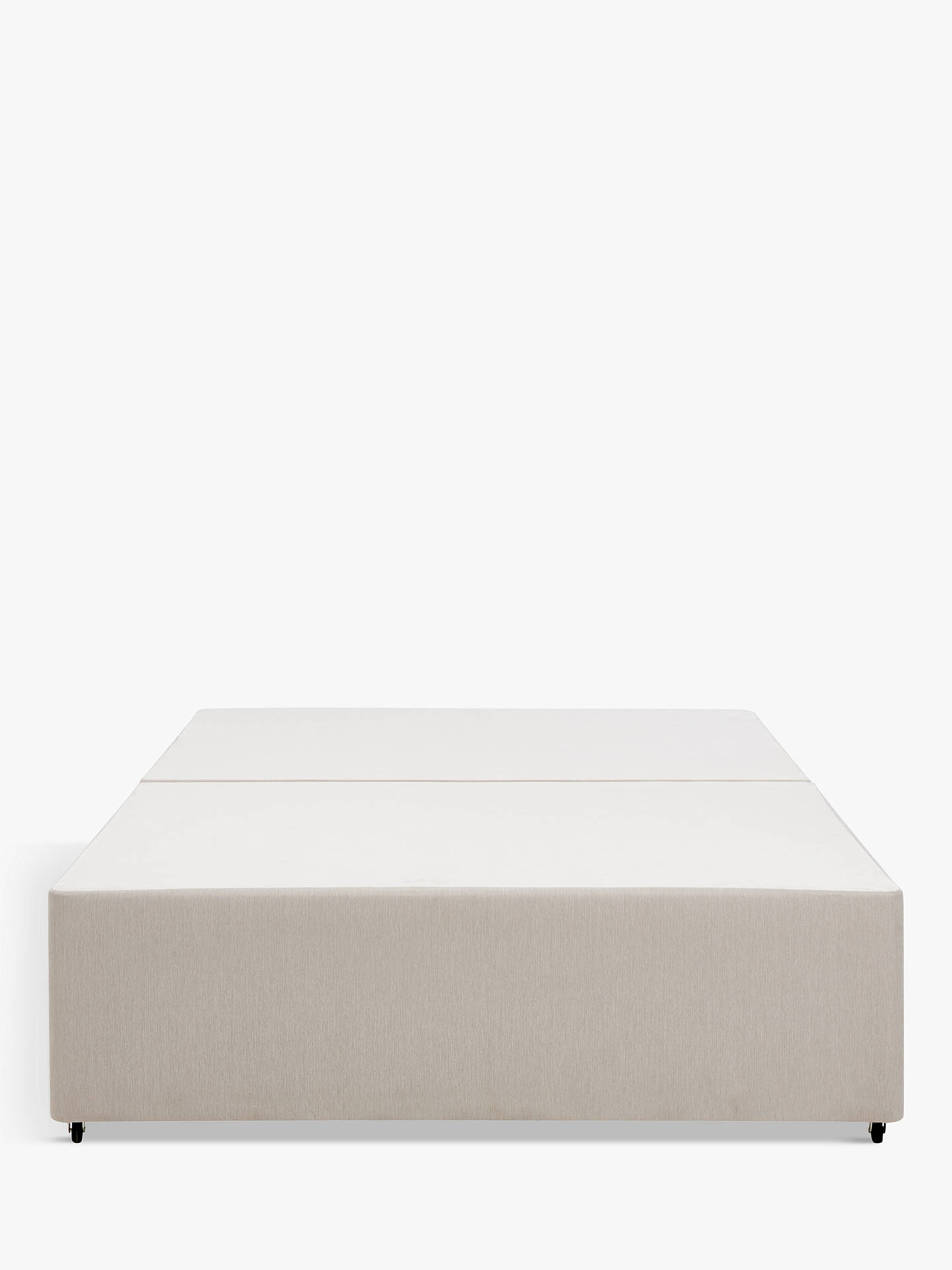 Buy John Lewis & Partners Non-Sprung Divan Base, Light Grey, Small Double Online at johnlewis.com