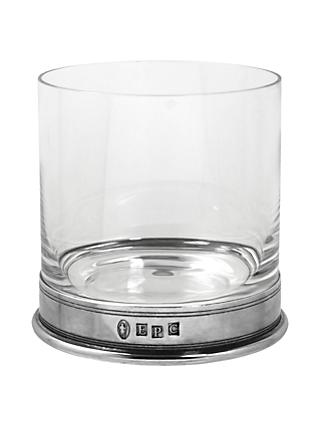 English Pewter Company Single Vogue Crystal Tumbler, 13.5oz