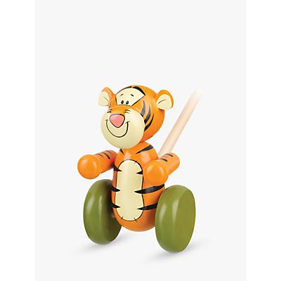 Orange Tree Winnie the Pooh Tigger Push Along Wooden Toy