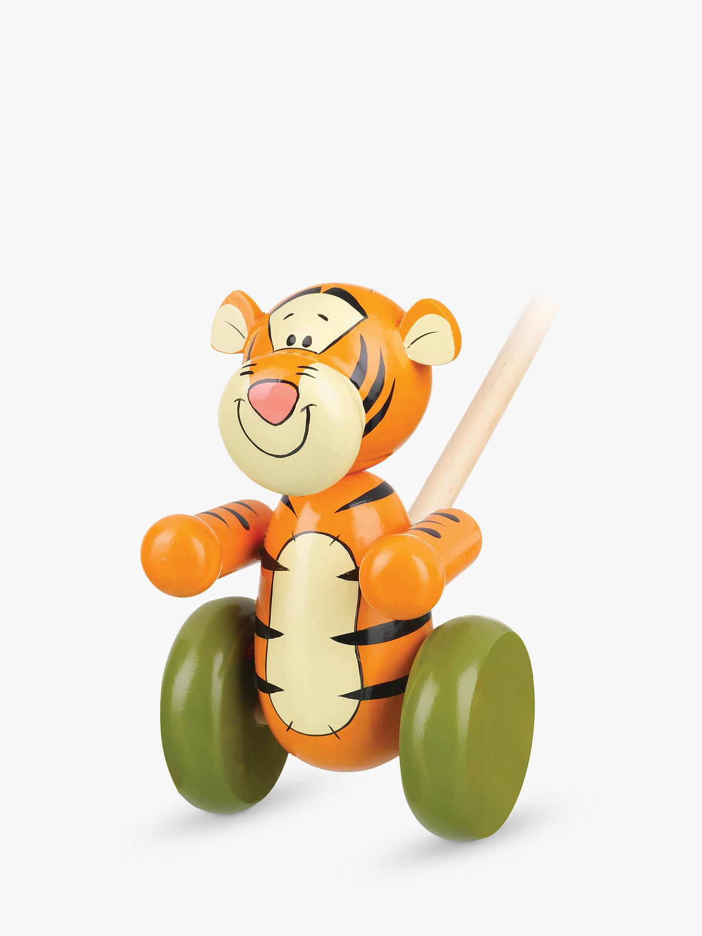 Orange Tree Winnie The Pooh Tigger Push Along Wooden Toy At John