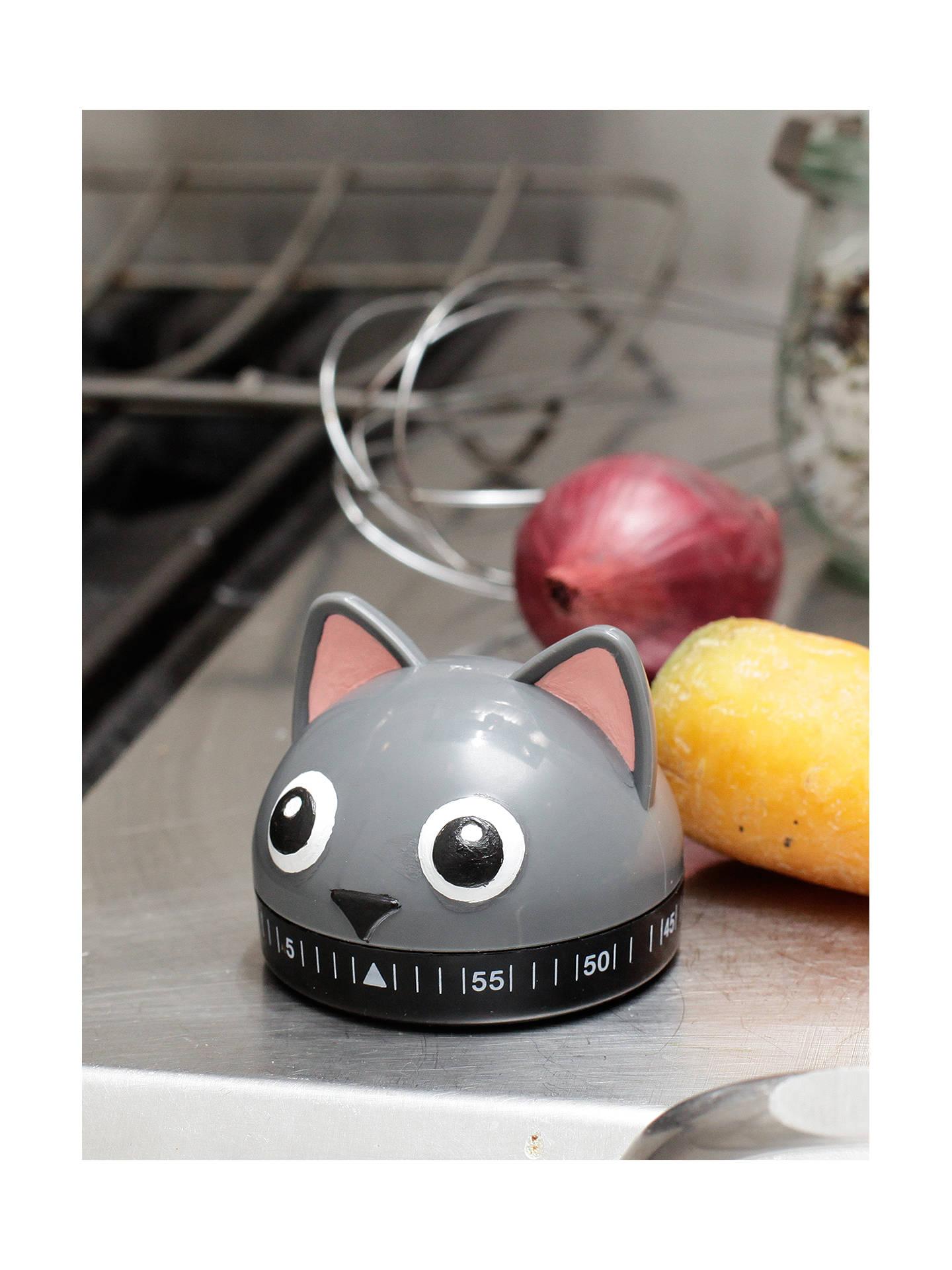 Buy Kikkerland Cat Kitchen Timer Online at johnlewis.com
