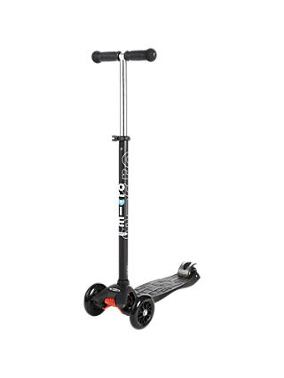 Maxi Micro Scooter, 6-12 years, Black