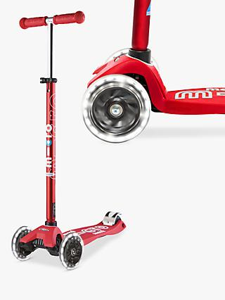 Maxi Micro Deluxe LED Scooter, 5-12 years