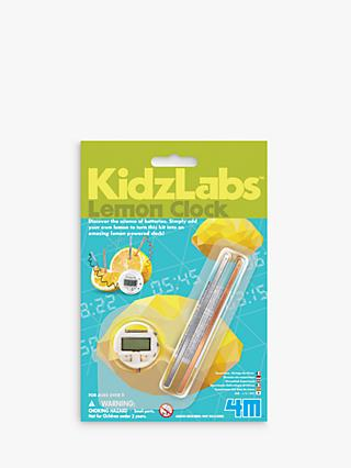KidzLabz Lemon Clock