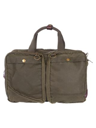 Barbour Lowerfell Business Bag Olive