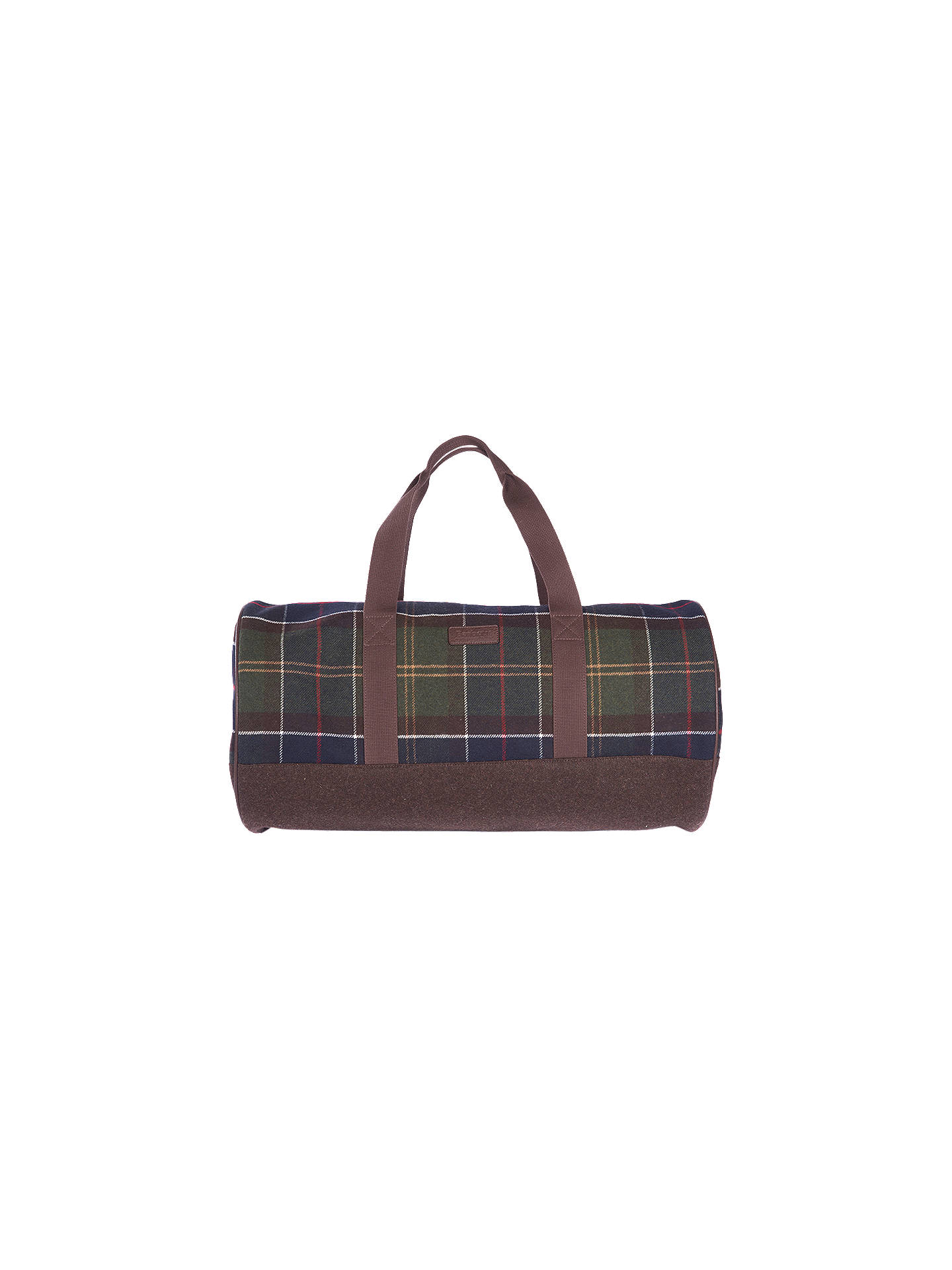 BuyBarbour Hardwick Classic Tartan Holdall, Green Online at johnlewis.com