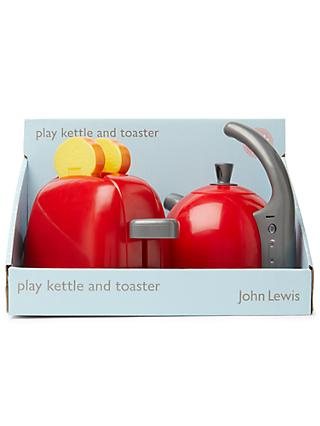 John Lewis & Partners Play Kettle and Toaster