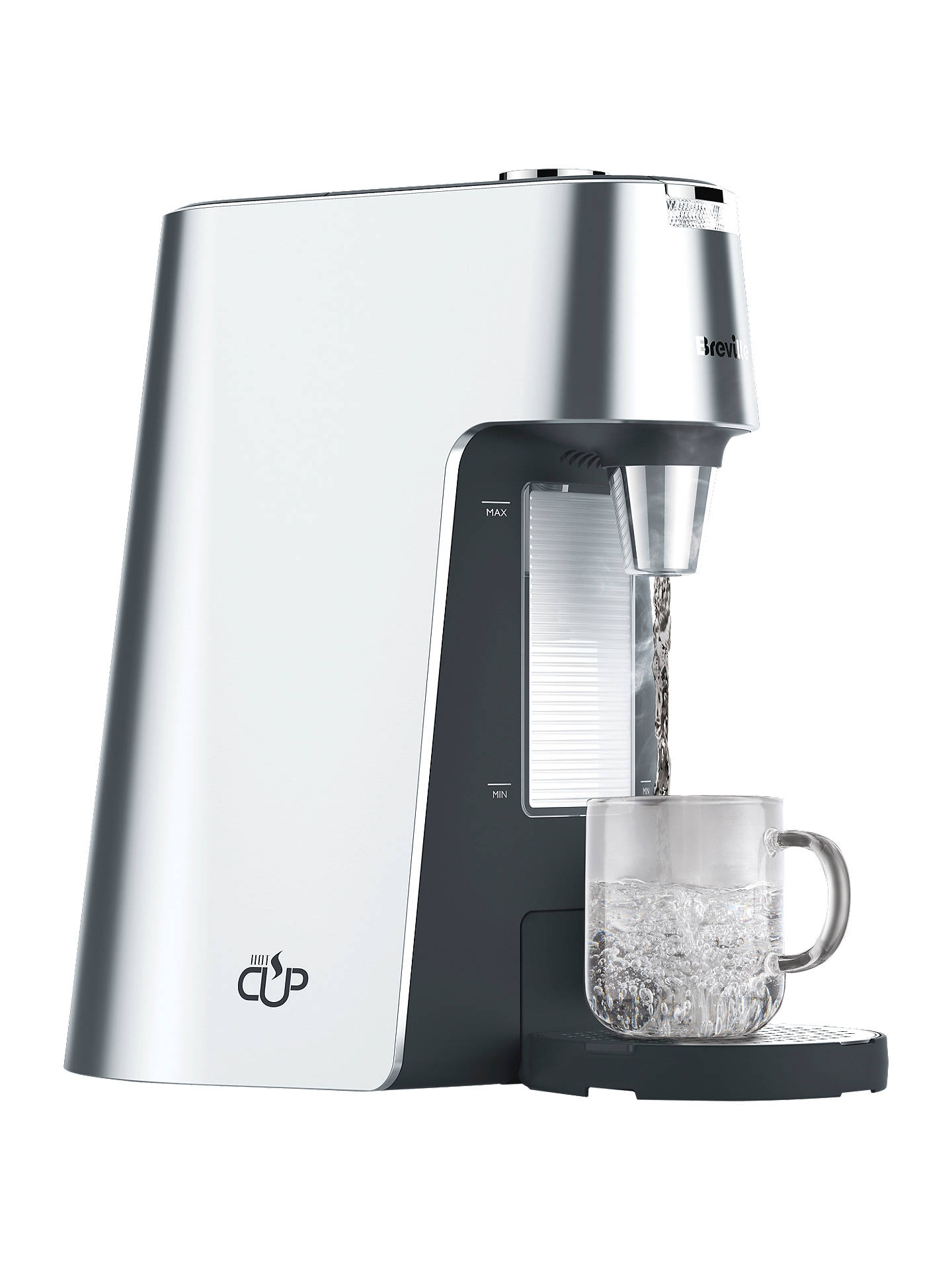 BuyBreville VKT111 HotCup with Variable Dispense, Silver Online at johnlewis.com
