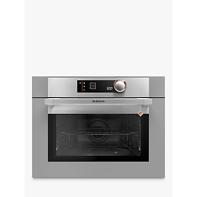 De Dietrich DKC7340G Compact Built-In Microwave Oven with Grill, Grey
