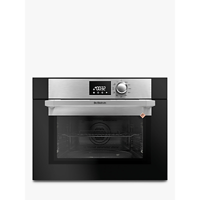 De Dietrich DKE7220X Compact Built-In Microwave, Platinum Silver