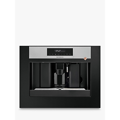 De Dietrich DKD7400X Bulit-In Coffee Machine, Platinum Silver