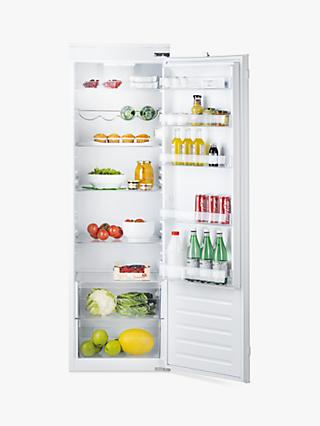 Hotpoint HS1801AAUK.1 Integrated Fridge, Sliding Door Hinge, A+ Energy Rating, 54cm, White