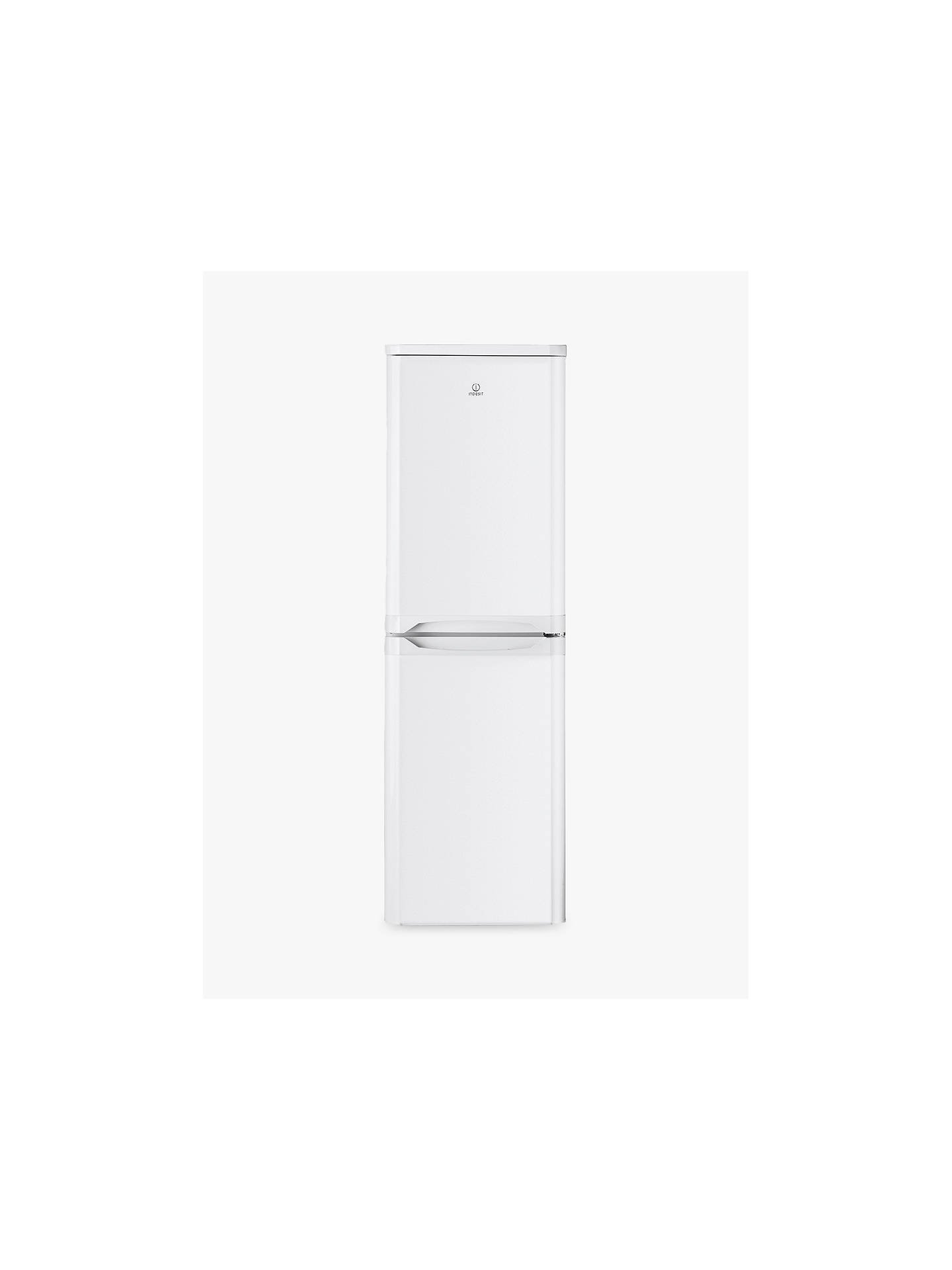 Buy Indesit IBD5517W Freestanding Fridge Freezer, A+ Energy Rating, 55cm Wide, White Online at johnlewis.com