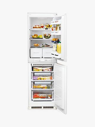 Indesit INC325FF1 Integrated Fridge Freezer A+ Energy Rating, 54.5cm Wide, White