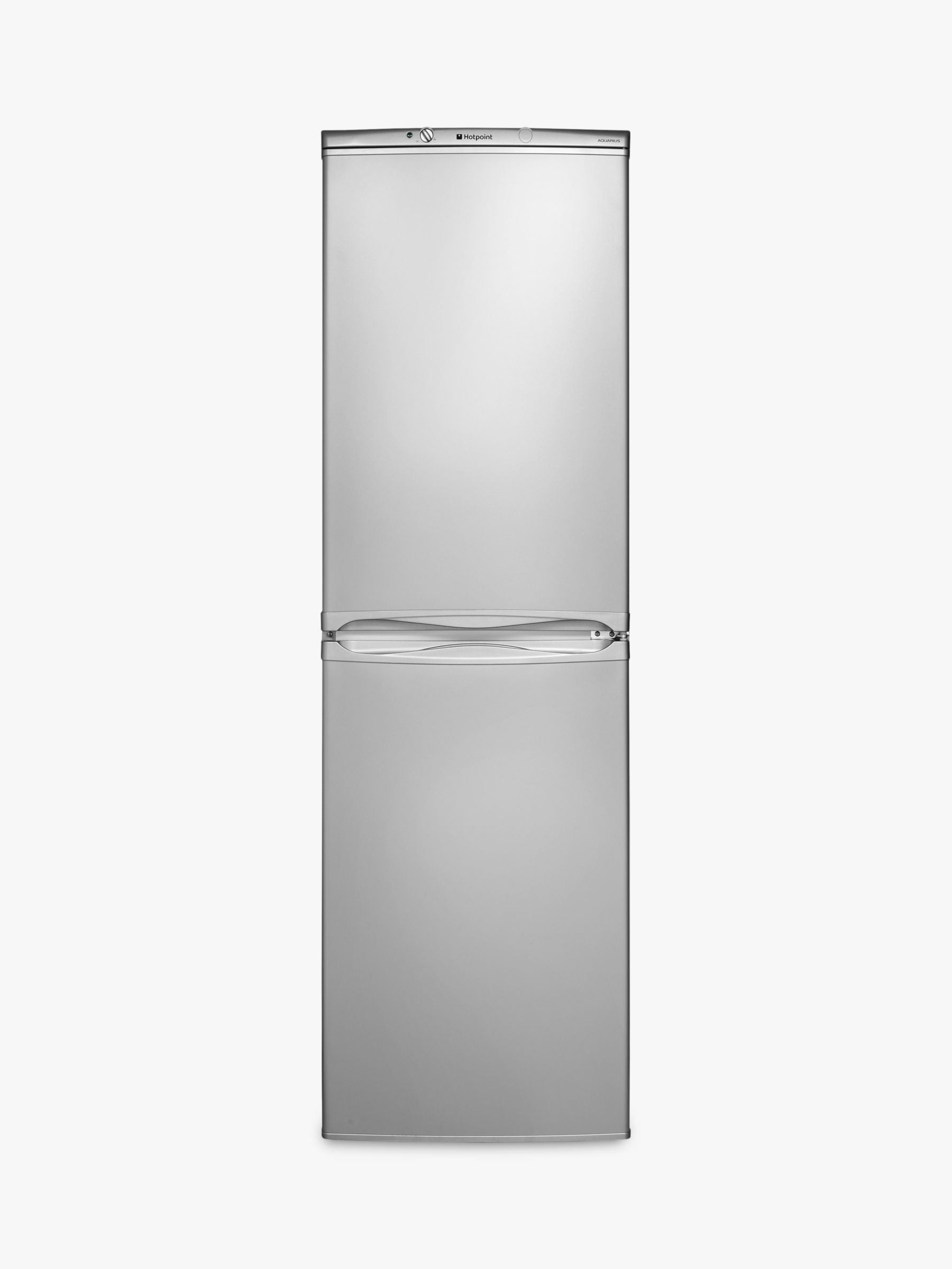 Hotpoint Hotpoint HBNF5517SUK Freestanding Fridge Freezer, A+ Energy Rating, 54.5cm Wide, Silver