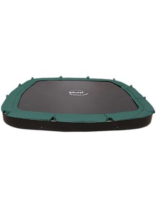 Plum 11ft In-Ground Trampoline, Green/Black