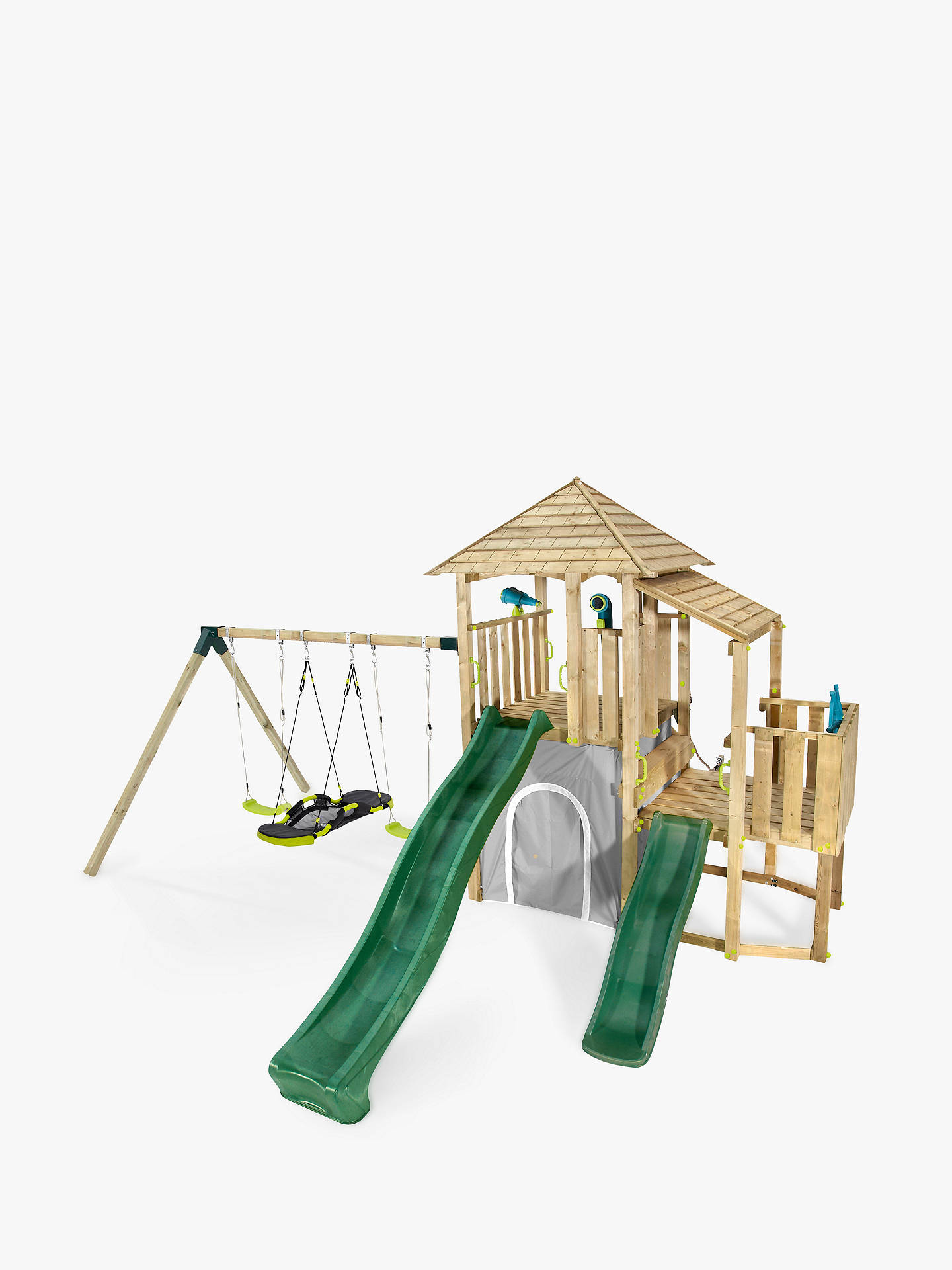 Plum Bison Wooden Climbing Frame Play Centre
