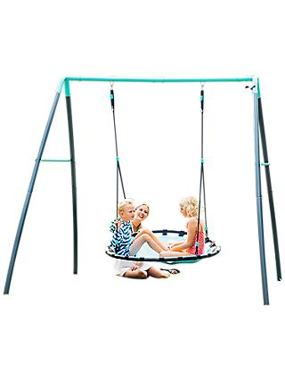 Plum Nest Swing with Mist Water Spraying System