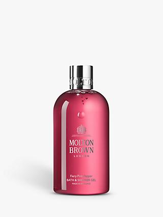 Molton Brown Fiery Pink Pepper Bath & Shower Gel, 300ml