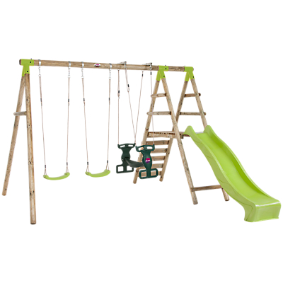 Plum Products Silverback Swing Set With Slide