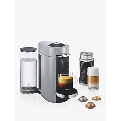 Image of Nespresso Vertuo Plus Coffee Machine with Aeroccino by Magimix