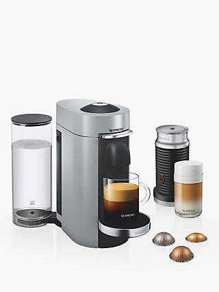 Nespresso Vertuo Plus Coffee Machine with Aeroccino by Magimix