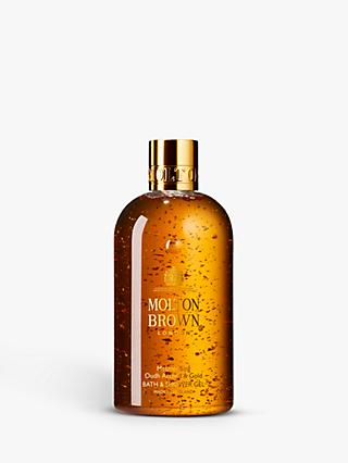 Molton Brown Mesmerising Oudh Accord & Gold Bath & Shower Gel, 300ml