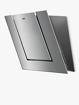 AEG DVB4550M Angled Chimney Cooker Hood, Stainless Steel