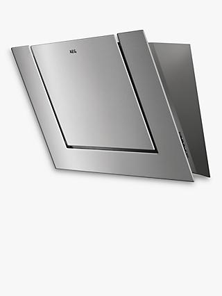 AEG DVB4850M Angled Chimney Cooker Hood, Stainless Steel