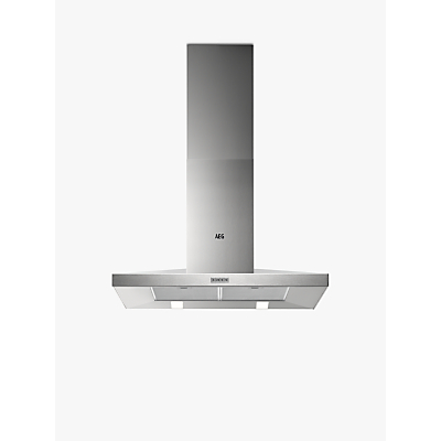 AEG DKB4950M Chimney Cooker Hood, Stainless Steel