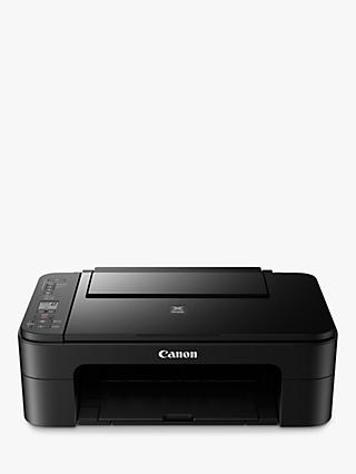 Canon PIXMA TS3150 All-in-One Wireless Wi-Fi Printer, Black