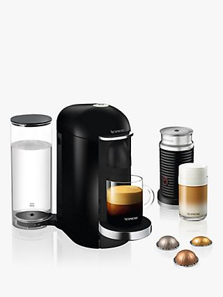 Nespresso Vertuo Bundle Coffee Machine, Black