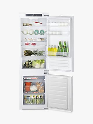 Hotpoint 7030ECAAO3 Integrated Fridge Freezer, A+ Energy Rating, 54cm Wide, White