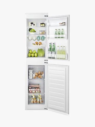 Hotpoint HMCB50501AA.UK Aquarius Integrated Fridge Freezer, A+ Energy Rating, 54cm Wide, White