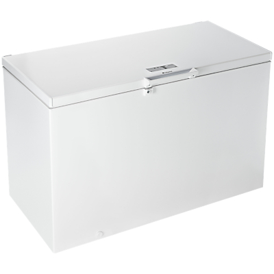 Indesit CS1A400HFMFAUK Freestanding Chest Freezer, White
