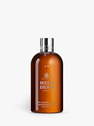 Molton Brown Re-charge Black Pepper Bath & Shower Gel, 300ml