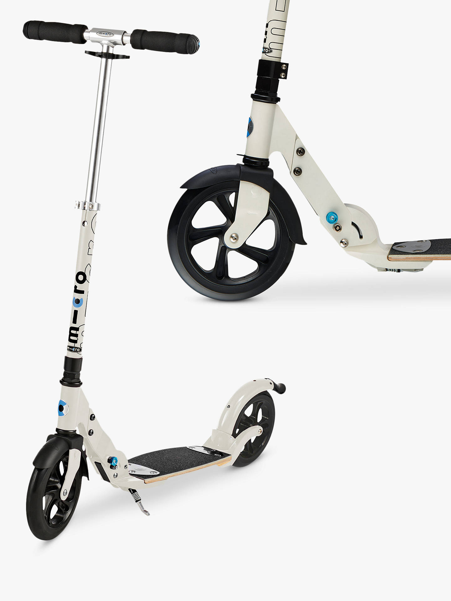 5c22ca20064 Buy Micro Flex Deluxe Scooter, Adult, Cream Online at johnlewis.com ...