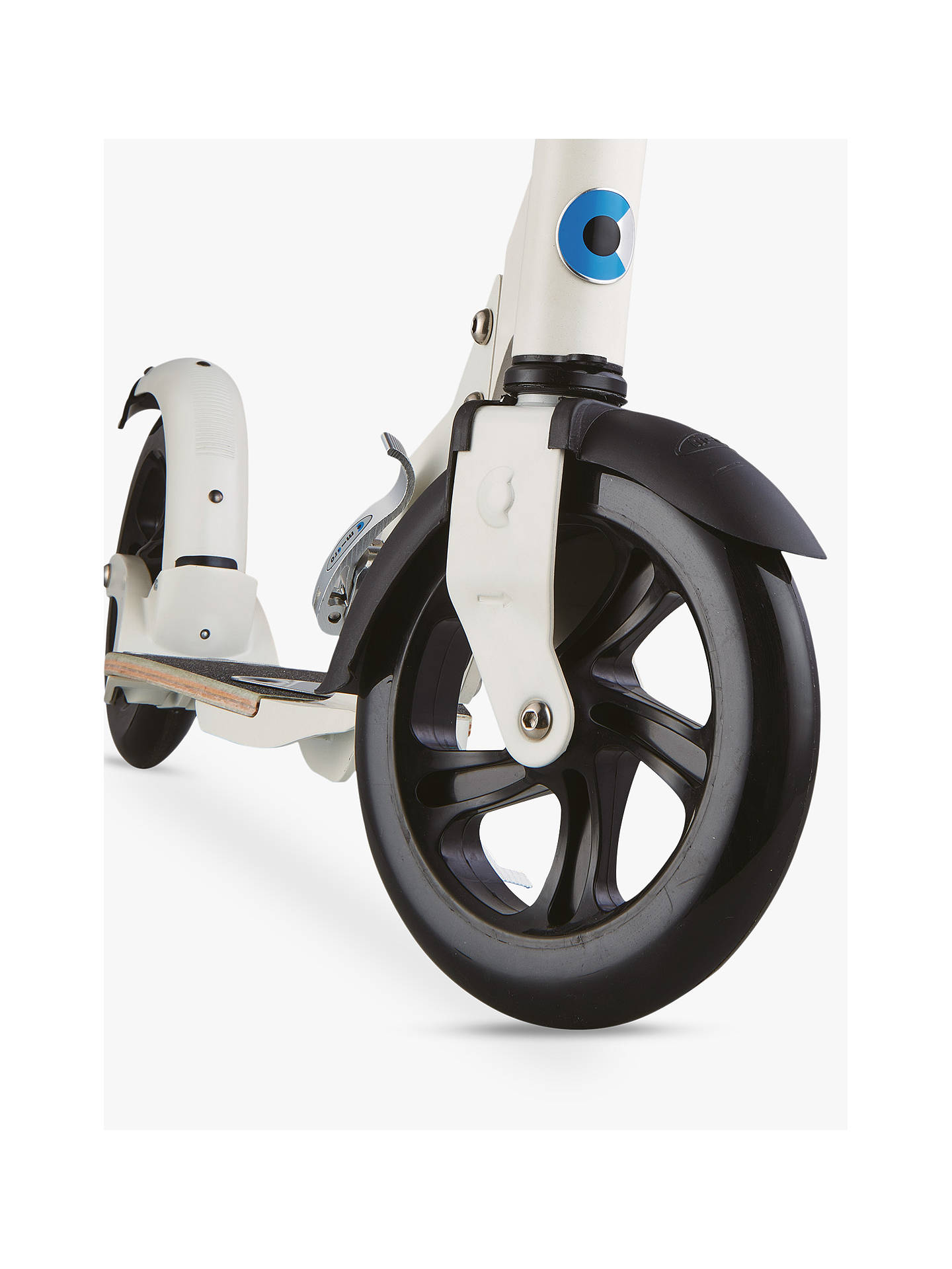BuyMicro Flex Deluxe Scooter, Adult, Cream Online at johnlewis.com