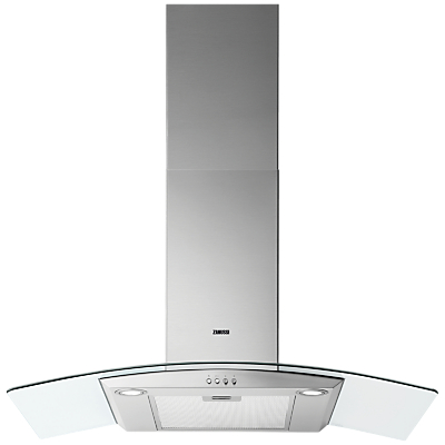 Zanussi ZHC9235X Chimney Cooker Hood, Stainless Steel