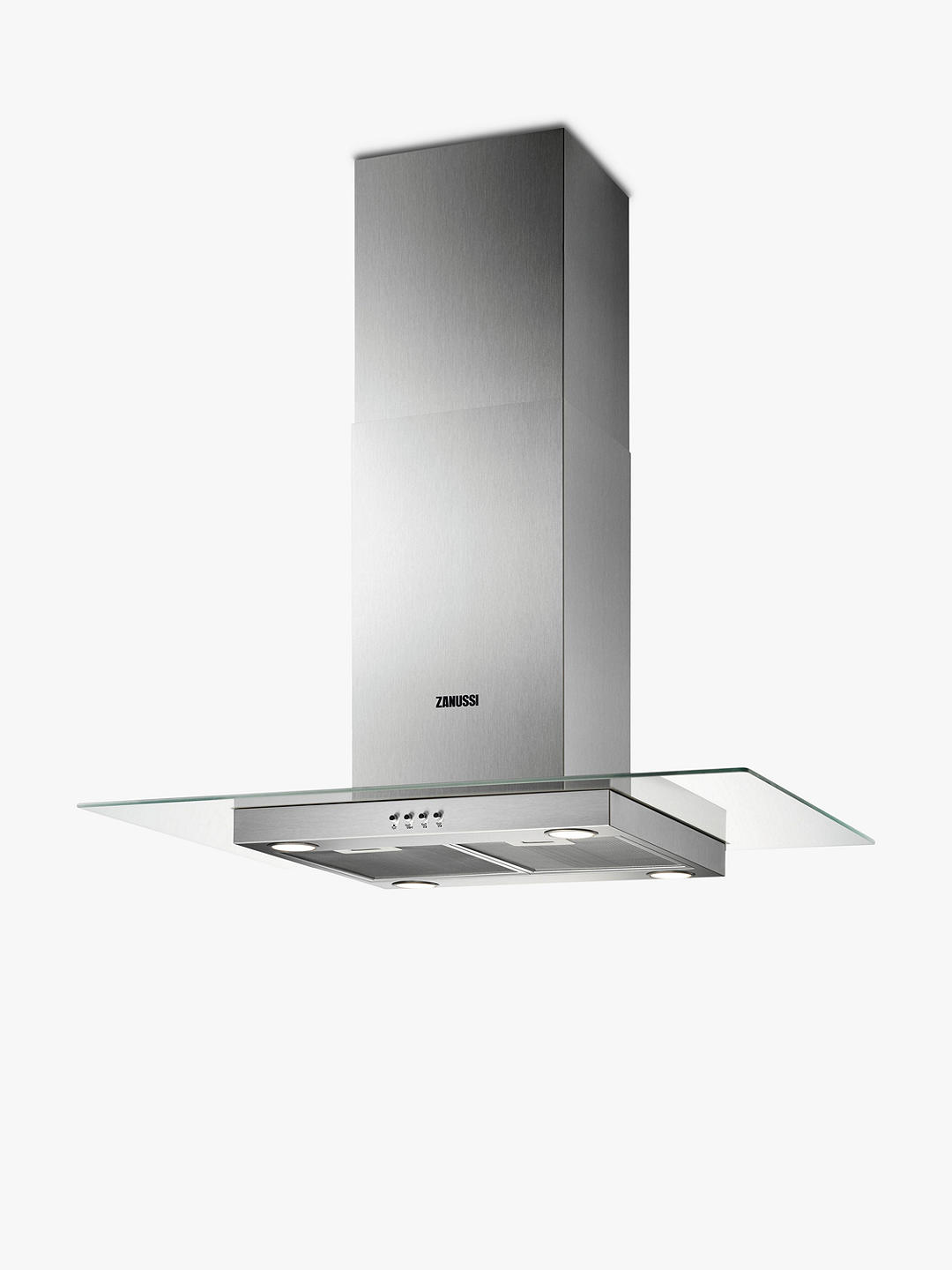 Buy Zanussi ZHS92650XA Island Cooker Hood, Stainless Steel Online at johnlewis.com