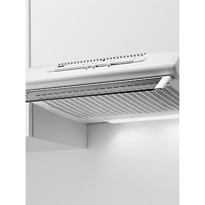 Zanussi ZHT611X Under Cabinet Cooker Hood, D Energy Rating