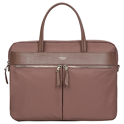 Image of Knomo Hanover Slim Briefcase for 14 Laptops, Fig