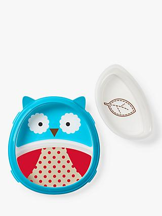 Skip Hop Baby Eat Neat Owl Plate and Bowl Set