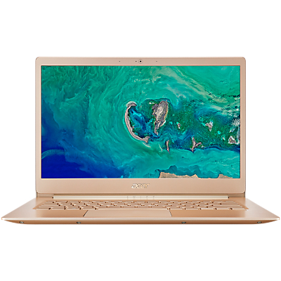Acer Swift 5 SF514-52T Laptop, Intel® Core™ i5, 8GB RAM, 256GB SSD, 14.0 Touchscreen, Honey Gold