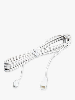 Buy Sensio LED Kitchen Light Extension Cable, 2.5m, White Online at johnlewis.com