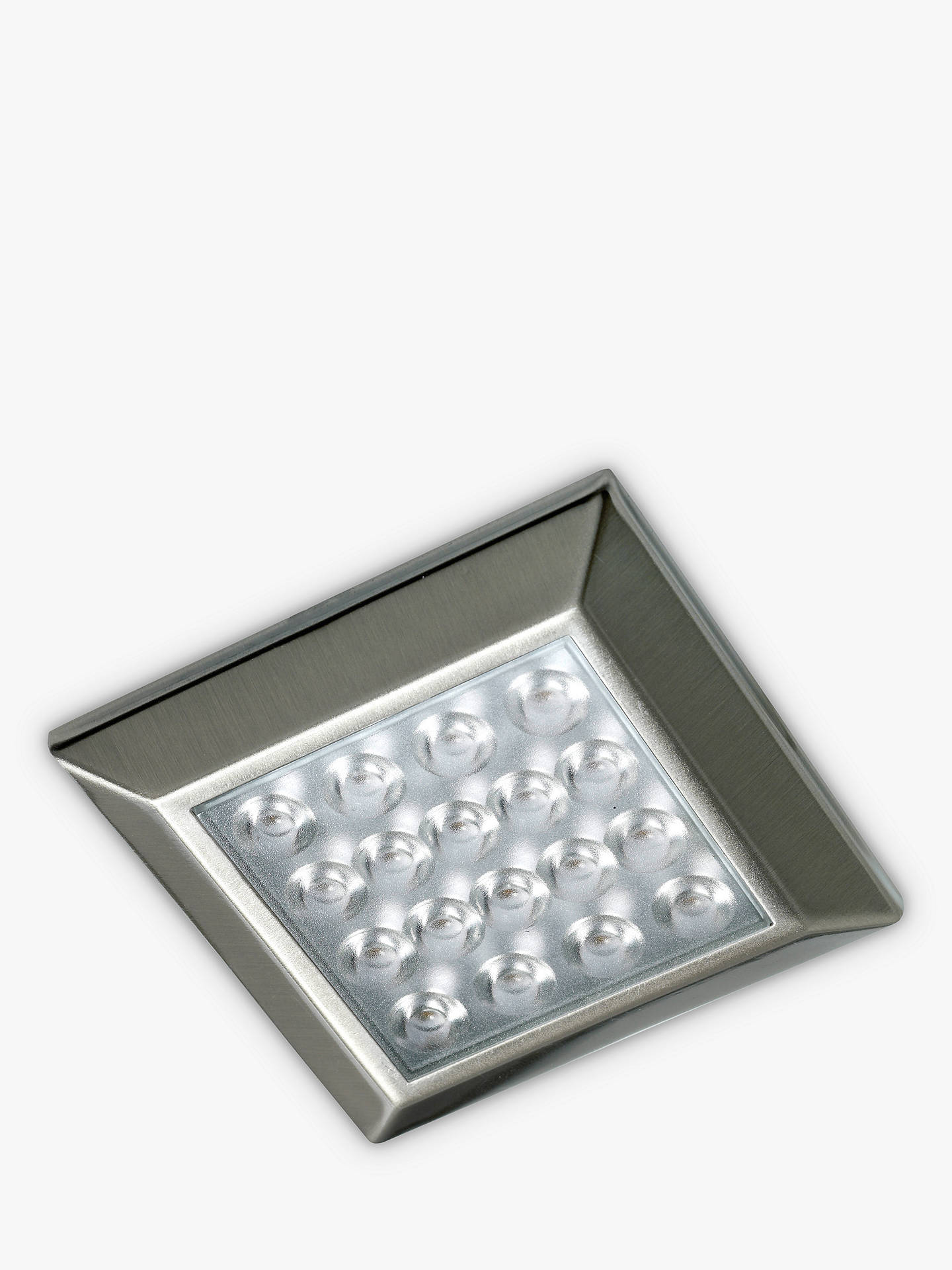 Buy Sensio Ora Square Surface LED Lights and Kit, Pack of 2, Warm White Online at johnlewis.com